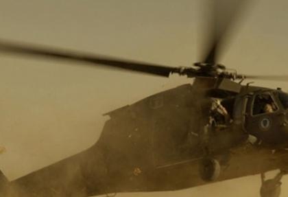 Suriye helikopterine Lübnan'da ateş açıldı