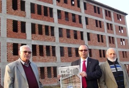 28 Şubat mağduru bina senelerdir bitirilmeyi bekliyor