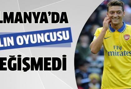 Almanya'da yılın oyuncusu yine Mesut Özil