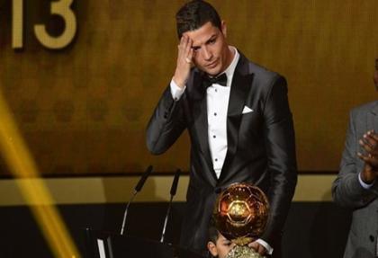 Altın Top ödülü  Cristiano Ronaldo'nun