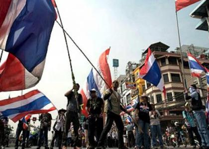 bangkok'ta eylem hazirligi