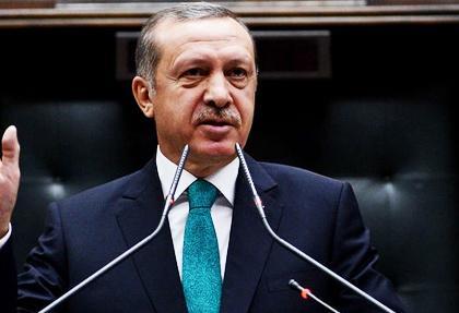 basbakan erdogan grupta konusuyor