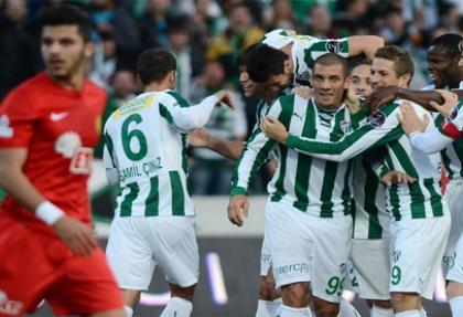Bursa'da çılgın maç!