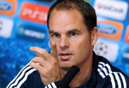 De Boer: G.Saray-Chelsea maçının favorisi...