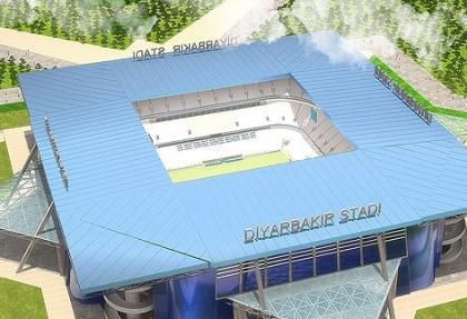 Diyarbakır'a dev stadyum yapılacak
