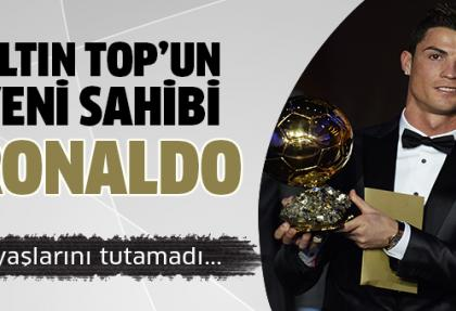 FIFA Altın Top 2013 Cristiano Ronaldo'nun oldu