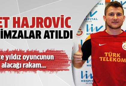 Galatasaray, Hajrovic'i borsaya bildirdi