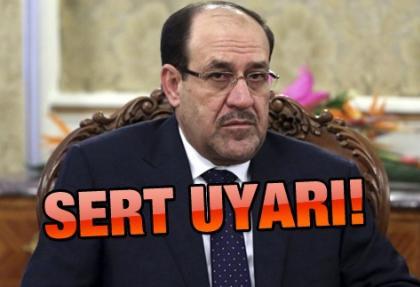 Maliki: Türkiye petrol konusuna karışmasın