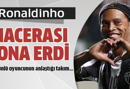 Ronaldinho, Atletico Mineiro takımı ile anlaştı