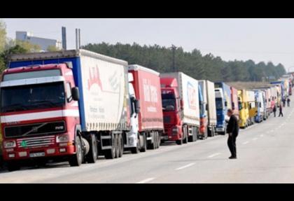 Bulgaristan'a Türkiye'den TIR hamlesi