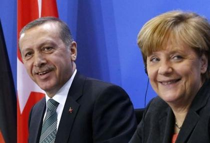 erdogan ve merkel'den gurbetcilere mujde