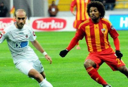 Kayserispor Gençlerbirliği maçı sonucu