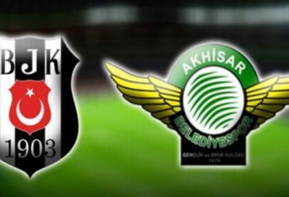 Beşiktaş Akhisar Belediyespor maç sonucu: 3-0 golleri izle