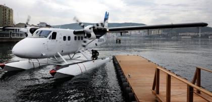 bursa-izmir deniz ucagi seferleri basliyor