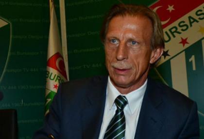 Bursaspor Daum'un görevine son verdi
