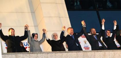 erdogan, 8. secim zaferi konusmasi yapti