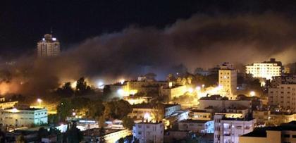 İsrail, Gazze'yi bombalıyor.. Filistin'den acil çağrı