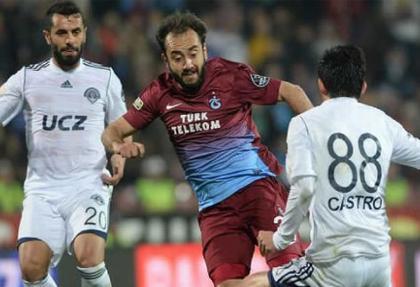 Trabzonspor - Kasımpaşa maçında gol yok