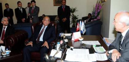 Mısır heyetinin DARBE terbiyesizliği