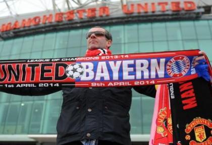 Şampiyon Bayern, Manchester deplasmanında