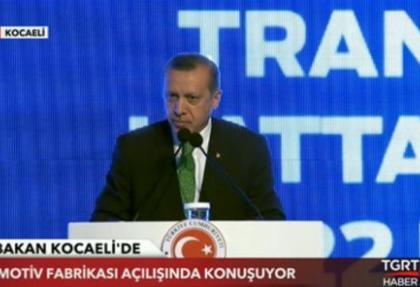 Başbakan Erdoğan otomobil fabrikasının açılışına katıldı
