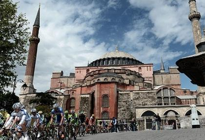 """Hasankeyf'te """"Uluslararası Bisiklet Turnuvası"""" başladı"""