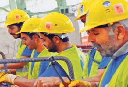 Taşeron işçi muradına eriyor