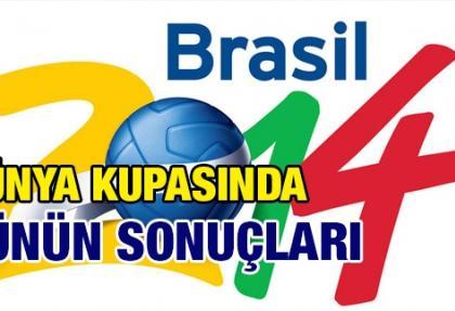 Brezilya'da dünün sonuçları