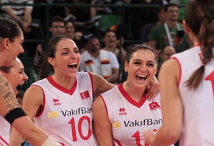 A Milli Voleybol Takımı Avrupa Şampiyonu!