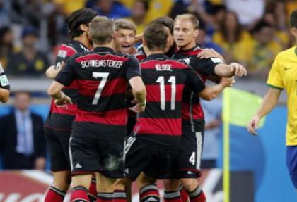 Brezilya tarihi hezimeti yaşadı: 1-7