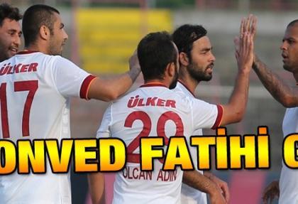 Galatasaray Honved'i Burak Yılmaz ile vurdu