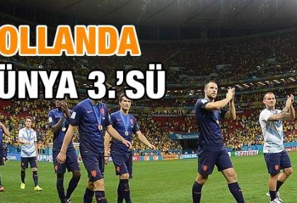 Hollanda dünya üçüncüsü