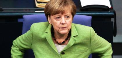 """Katliamcı ülke Başbakanı Merkel: """"Biz İsrail'in tarafındayız"""""""