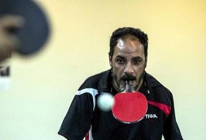 Mısırlı 'engelli masa tenisçisinin' azmi