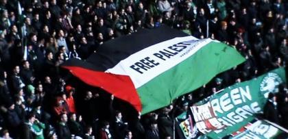 Celtic taraftarı Gazze'ye sahip çıktı!