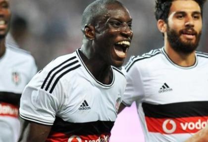 Demba Ba Beşiktaş'ı Play-off'a taşıdı