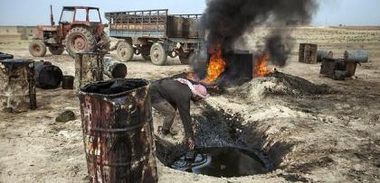 IŞİD 80 bin varil petrole konup zengin oldu