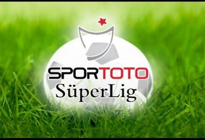 Spor Toto Süper lig'de ilk haftanın programı