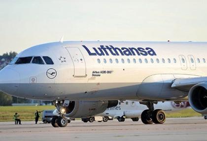 Almanya'da grev nedeniyle 56 uçak seferi iptal edildi