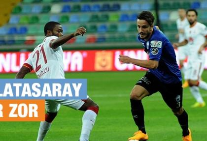 Galatasaray 3 puanın sahibi