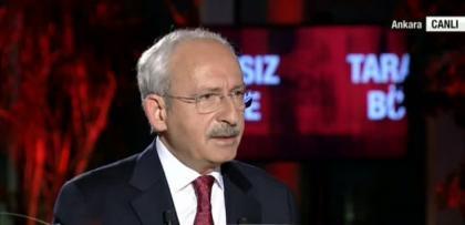 """Kılıçdaroğlu: """"Asıl ihanet, 1,5 milyon Suriyeliyi almak"""""""