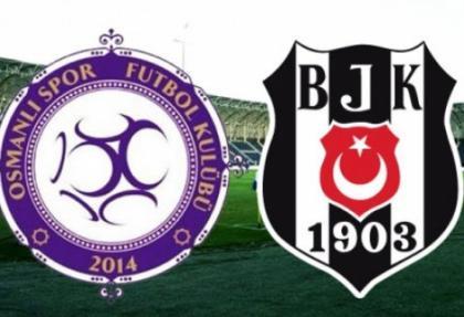 Osmanlıspor'dan Beşiktaş'a müthiş jest!