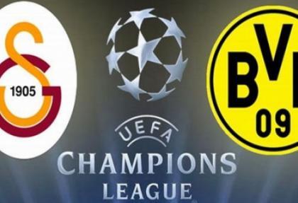 Galatasaray - Borussia Dortmund'u ağırlayacak