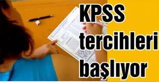 KPSS-2014 tercih tarihleri açıklandı
