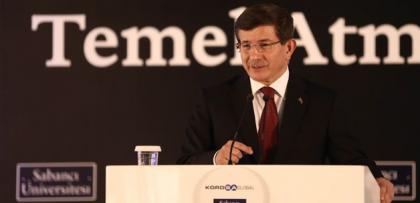 """Davutoğlu: """"Herkes elini taşın altına koysun!"""""""
