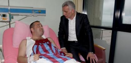 Trabzonspor Yönetiminden yaralı şoföre sürpriz teklif!