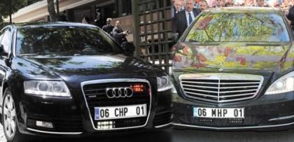Diyanet'in Mercedes'ini eleştirenlerin lüks arabaları