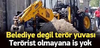 HDP'li belediyelerin işi gücü TERÖRE DESTEK!