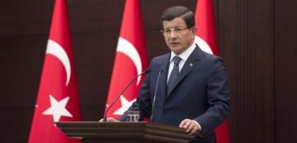 """Ahmet Davutoğlu: """"Demirtaş'ın maskesi düştü"""""""