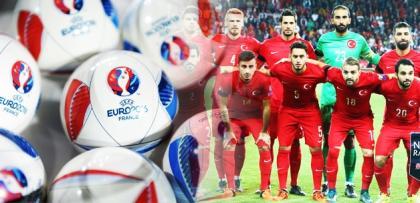 EURO 2016'da gruplar belli oldu! İşte Türkiye